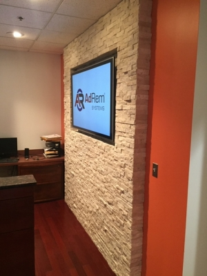 AdRem Systems Office Lobby Upgrade