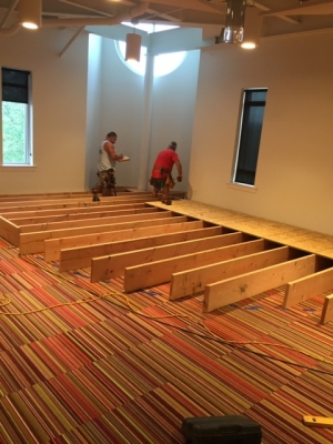 Church Stage Building