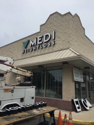 Medi Weight Loss Signage